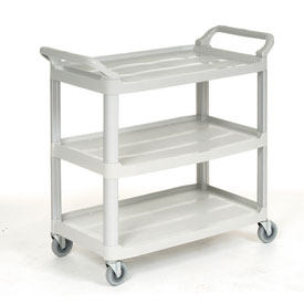 Freudenberg | Vileda Plastic Utility Cart CA1850 with 3 Shelves & Open Sides