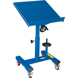 Tilting Work Table 300 Lb. Cap. 24 x 24 with Mechanical Crank