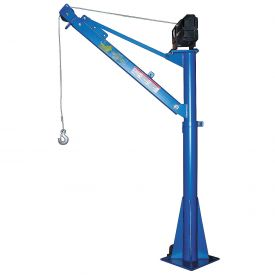 Vestil DC Powered Pickup, Trailer & Truck Jib Crane WTJ-E-15-3-DC 1500 Lb.