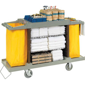 Global™ Hotel Cart, Housekeeping Cart