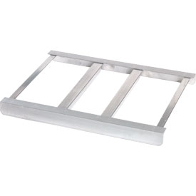 "PVI, DG1824, Bridge For Aluminum Dunnage Rack 24""W x 18""D"