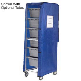 Blue Nylon Cover For 6 Lug Cart