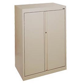 Sandusky System Series Storage Cabinet HA3F301864 Double Door - 30x18x64, Sand