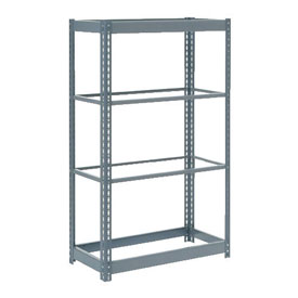 "Heavy Duty Shelving 36""W x 18""D x 60""H With 4 Shelves, No Deck"