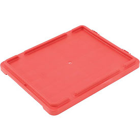 LEWISBins Lid CSN2618 For Stack-N-Nest Container SN2618-10, Red - Pkg Qty 4