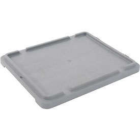 LEWISBins Lid CSN2618 For Stack-N-Nest Container SN2618-10, Gray - Pkg Qty 5