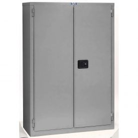 "Jamco Fire Resistant Cabinet BR29-GP, All Welded 43""W x 18""D x 65""H Gray"