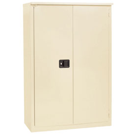"Jamco Fire Resistant Cabinet BX55-AP, All Welded 43""W x 34""D x 65""H Putty"