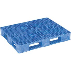 ORBIS USDA - FDA Double Sided Rackable Plastic Pallet 40x48OPCIISFBLUE - 40 x 48 Blue