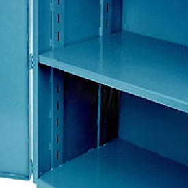 "Jamco Additional Shelf 348AT-BP - For Heavy Duty Storage Cabinet 48""W x 30""D Blue"