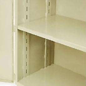 "Jamco Additional Shelf 348AT-AP - For Heavy Duty Storage Cabinet 48""W x 30""D Putty"