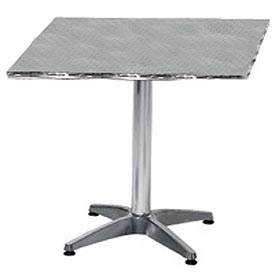 Premier Hospitality Square 24x24 Stainless Steel Table