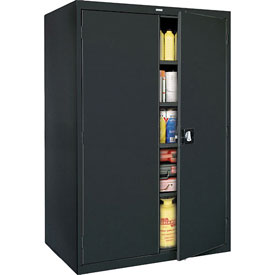 Sandusky Elite Series Storage Cabinet EA4R462478 - 46x24x78, Black