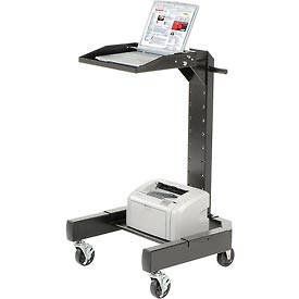 Orbit Mobile Laptop Cart - Black