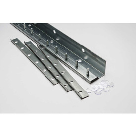 TMI Save-T Loc™ 4'L Deluxe Strip Curtain Door Mounting Bracket Kit