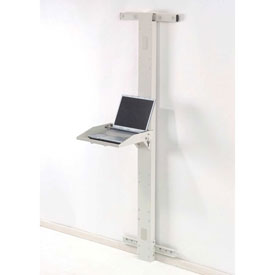 "72""H Laptop Wall Mount Unit - Beige"