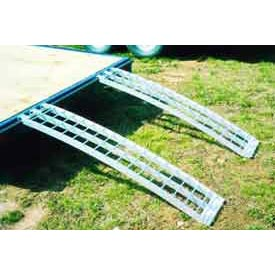 Five Star 512 Aluminum Trailer Ramps (Pair) 2500 Lb. Capacity