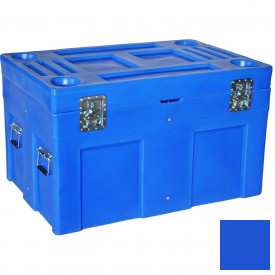 "Myton Shipping Container and Site Box SC-4534-1 No Casters - 45""L x 30""W x 34""H, Blue"