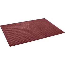 "Heavyweight Indoor Entrance Mat 3/8"" Thick 24"" X 36"" Red"