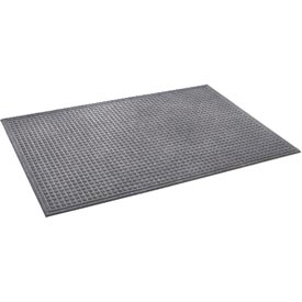 "Heavyweight Indoor Entrance Mat 3/8"" Thick 48"" X 72"" Gray"