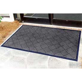 "Outdoor Scraper Entrance Mat 1/4"" Thick 24"" X 36"" Charcoal"