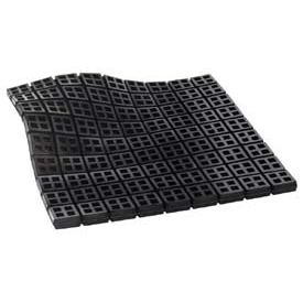 """Easy Cut Waffle Pad - Natural Rubber 8"""" X 8"""" X 3/4"""""""