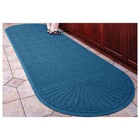 "Waterhog Grand Classic Mat Two Oval 3'W X 11'8""L Navy"