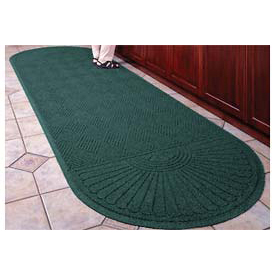 "Waterhog Grand Classic Mat Two Oval 4'W X 12'7""L Green"