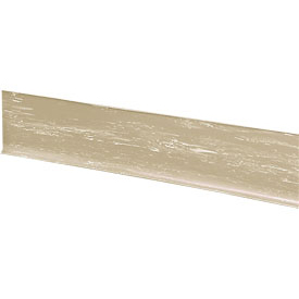 "Rubber Riser Stair Cover 48""W Beige - Pkg Qty 3"