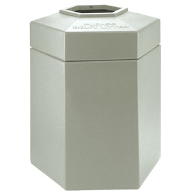 Waste Receptacle - 45 Gallon Beige