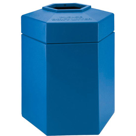 Waste Receptacle - 45 Gallon Blue