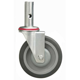 "Replacement 5"" Swivel Casters - Pair - For Global 241664 & 241666 Hand Trucks"