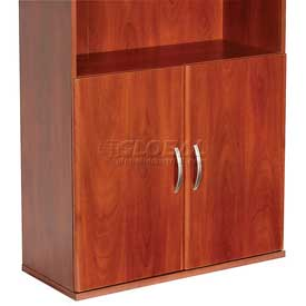 Bush Furniture Half Height Door Kit (2 Doors) - Hansen Cherry - Series C