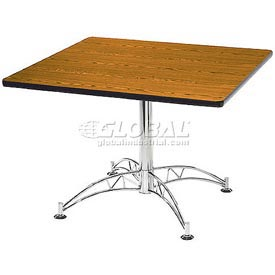 "OFM 42"" Lunchroom Table - Square - Cherry"