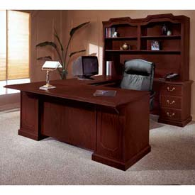 "72"" U Shape Desk With Center Drawer Right Return"