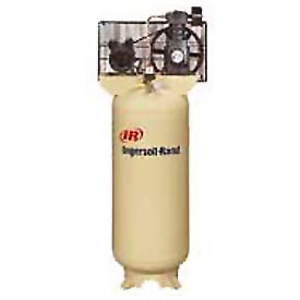 Ingersoll Rand One-Stage Electric Air Compressor SS3L3, 230V, 3HP, 1PH, 60 Gal, with Start-up Kit