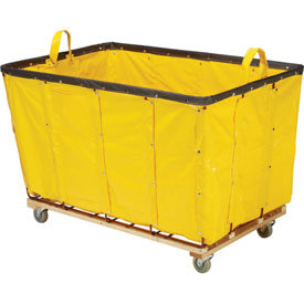 Best Value 24 Bushel Yellow Vinyl Basket Bulk Truck