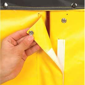 Replacement Liner for Best Value 24 Bushel Yellow Vinyl Basket Bulk Truck