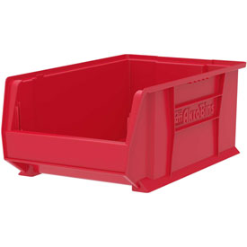 "Akro-Mils Super-Size AkroBin® 30281 - Stacking Bin 12-3/8""W x 20""D x 8""H Red - Pkg Qty 3"