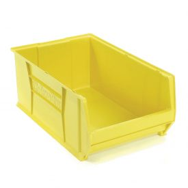 "Akro-Mils Super-Size AkroBin® 30290 - Stacking Bin 18-3/8""W x 29-1/4""D x 12""H Yellow"