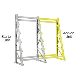 "Reel Rack Add-On Unit 48""W x 36""D x 120""H"