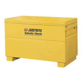 "Justrite Safesite™ Storage Tool Chest, 48""W x 24""D x 31-1/8""H, Yellow"