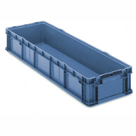 ORBIS Stakpak SO4815-7 Plastic Long Stacking Container 48 x 15 x 7-1/2 Blue
