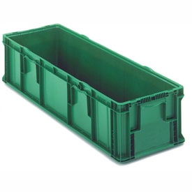 ORBIS Stakpak SO4815-11 Plastic Long Stacking Container 48 x 15 x 10-3/4 Green