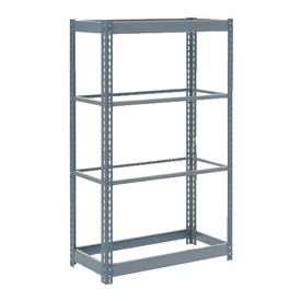 "Heavy Duty Shelving 36""W x 24""D x 72""H With 4 Shelves, No Deck"