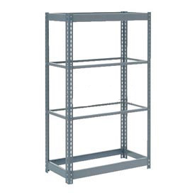 "Heavy Duty Shelving 48""W x 12""D x 72""H With 4 Shelves, No Deck"