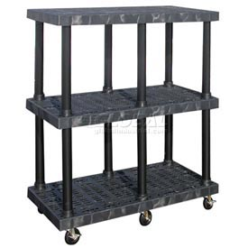 SPC Dura-Shelf® Truck MDS4824X3 3 Shelves 900 Lb. Cap.