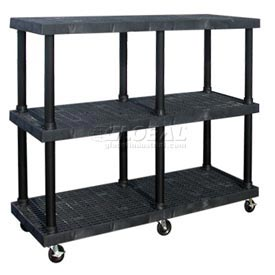 SPC Dura-Shelf® Truck MDS6624X3 3 Shelves 900 Lb. Cap.