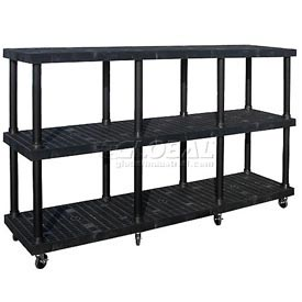 SPC Dura-Shelf® Truck MDS9624X3 3 Shelves 1200 Lb. Cap.
