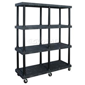 SPC Dura-Shelf® Truck MDS6624X4 4 Shelves 900 Lb. Cap.